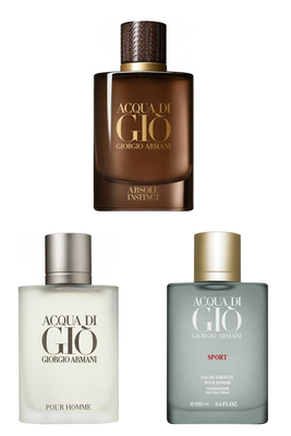 Giorgio Armani - Best Of Giorgio Armani Men Perfume Set (Original Tester Perfume)