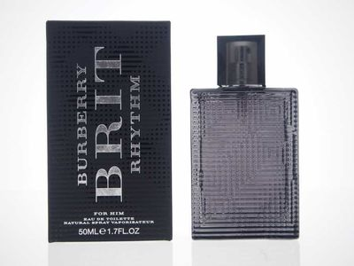 Burberry - Burberry Brit Rhythm Edt 50 ML (1.7Oz) Men Perfume (Original)