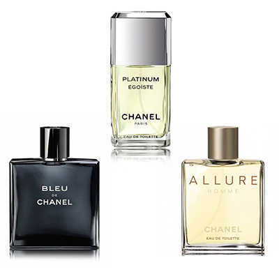 Chanel - Chanel Men Triple Set (Original Tester Perfume)