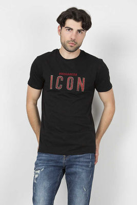 Dsquared2 - Dsquared2 Men Black T-Shirt