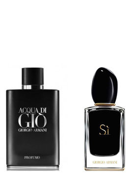 Giorgio Armani - Giorgio Armani Men And Women Perfume Set