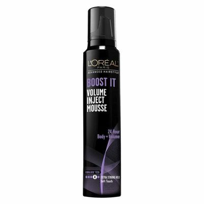 LOreal - Loreal Advanced Hairstyle Boost It Volume Inject Mousse 8.3 Oz