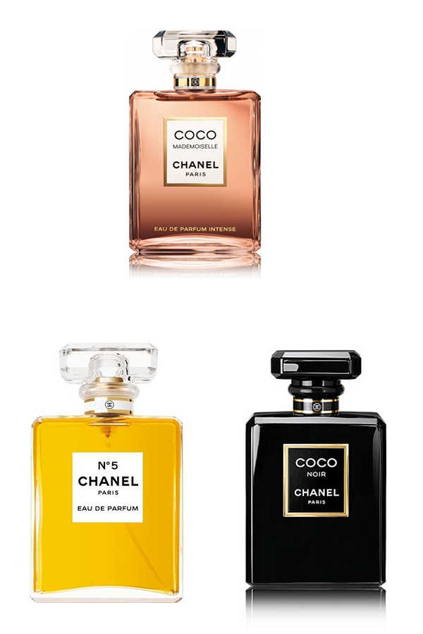 Most Loved Chanel Women Perfume Set