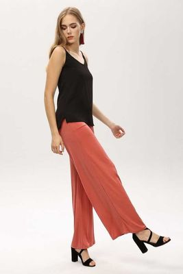 New Laviva - New Laviva Women Coral Pants