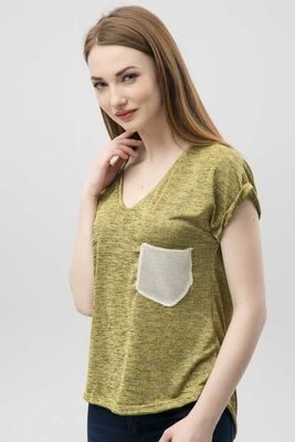 New Laviva - New Laviva Women Peanuts Green Blouse