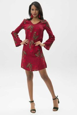 New Laviva - New Laviva Women Red Dress