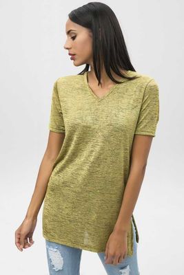 New Laviva - New Laviva Women Yellow Blouse