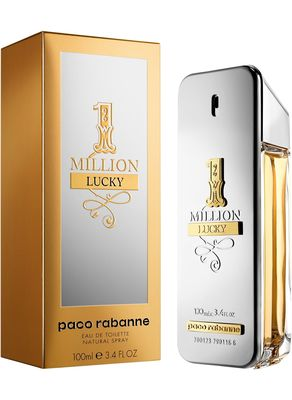 Paco Rabanne - Paco Rabanne 1 Million Lucky EDT 100 ML Men Perfume (Original)