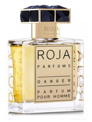 Roja - Roja Danger Cologne by Roja Parfums, Roja Danger is just what the name would suggest—dangerous to anyone who comes into the orbit of the wearer. A rich, sensual oriental launched in 2011, this fragrance has powerful impact. Fresh, light notes of lemon, tarragon, bergamot and lavender are sweetened by the introduction of lily of the valley, jasmine and violet at the heart. The complex, layered base features notes of rhubarb, labdanum, ambergris, clove, cumin, vetiver, cedarwood, vanilla, tonka bean, patchouli, oakmoss, leather and musk. This blend of notes creates a scent that calls up visions of exotic locations and clandestine liaisons.