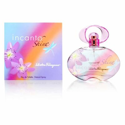 Salvatore Ferragamo - Salvatore Ferragamo Incanto Shine Edt 50 ML (1.7Oz) Women Perfume (Original)
