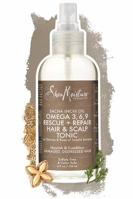 Shea Moisture - Shea Moisture Sacha Inchi Oil Omega-3-6-9 Rescue & Repair Hair & Scalp Tonic 4 Oz