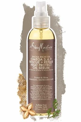 Shea Moisture - Shea Moisture Sacha Inchi Oil Omega-3-6-9 Rescue & Repair Heat Protect Serum 4 Oz