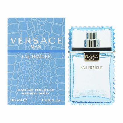 Versace - Versace Eau Fraiche Edt 30 ML (1.0Oz) Men Perfume (Original)