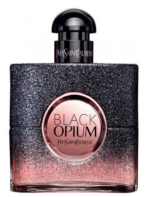 Yves Saint Laurent - Black Opium Floral Shock Perfume by Yves Saint Laurent, Released in 2017, Black Opium Floral Shock is a women's floral fruity gourmand fragrance with white floral, citrus, and fruity main accords. Its flacon is the same dark and square shape of the original Black Opium perfume, but has fading black sparkles that reveal pink. The top notes are bergamot, lemon, pear, and freesia. In the middle are gardenia, orange blossom, white flowers, and solar notes. Providing depth and support are coffee, white musk, and amberwood base notes. Notable perfumers Honorine Blanc, Olivier Cresp, Nathalie Lorson, and Marie Salmagne collaborated on this fragrance, which has soft sillage and moderate longevity for fall, winter, and spring wear.
