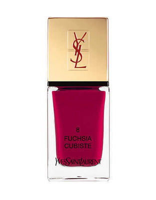 Yves Saint Laurent - Yves Saint Laurent La Laque Couture - 08 Fuchsia Cubiste 0.34 Oz